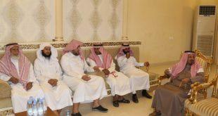 """بالصور.. مشايخ محافظة الداير يحتفون بـ """"ابن لبدة"""" وعدد من القيادات ويكرمون """"الشهراني"""""""