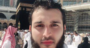 الإعلامي السعودي أنس القاسم يؤدي العمرة عن الشيخ أسيد اللوزي.