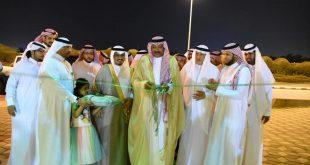 """محافظ صامطة يدشن معرض """"بازار أيادينا"""""""