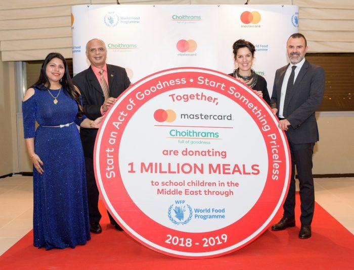 Photo of Mastercard and Choithrams Start Something Priceless: 1 Million Meals contributed to the World Food Programme