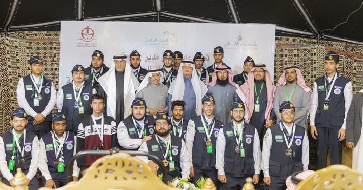 Photo of جامعة حفر الباطن تنظم الماراثون الرياضي السنوي