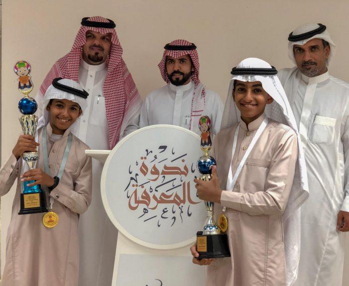 Photo of *مركز ندوة المعرفة يستضيف أبطال مسابقة الذكاء الذهني*
