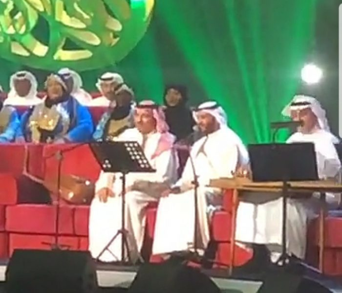 "Photo of أصيل بالفقيه يغني مع المطرف و أنغام ""لاتهجى في كفوفي """