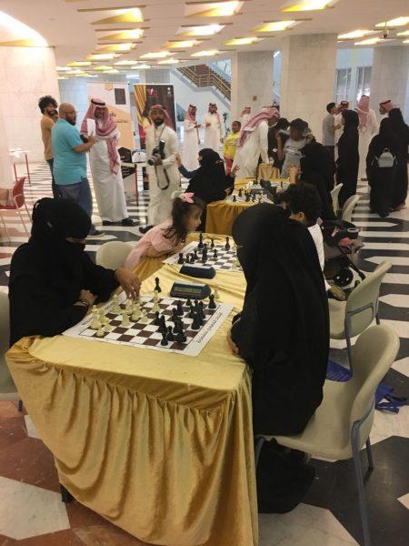 Photo of بطولة ملتقى المرأه السعوديه الثالث للعبة الشطرنج بالرياض