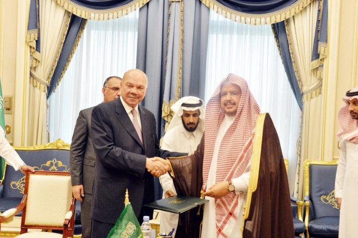 Photo of التكريم لسفارة المملكة العربية السعودية في الأردن