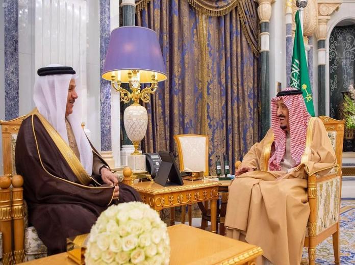 Photo of #خادم_الحرمين يستقبل الأمين العام #لمجلس_التعاون