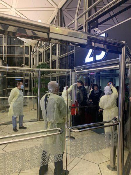 Photo of د. #التويجري يقف على جاهزية منع وفادة #كورونا الجديد في #مطار #الرياض