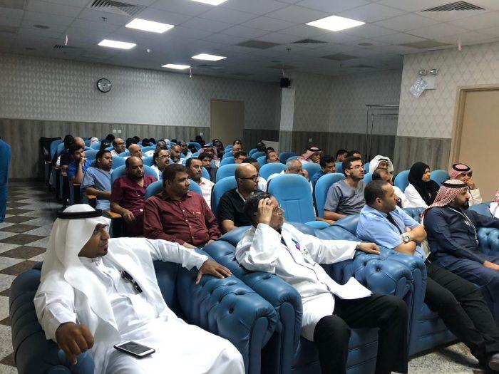 Photo of مستشفى #بيش العام ينفذ محاضرة توعوية عن كوفيد-19