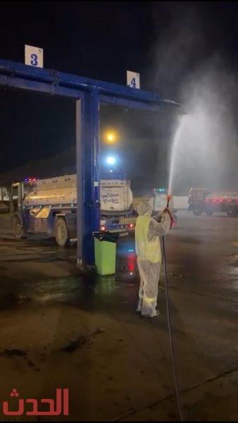 Photo of جهود شركة المياه الوطنية الاحترازية في جميع أشياب #جده 