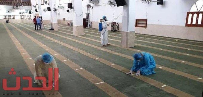 Photo of #بالصور .. شاهد الاستعدادات الاحترازية بمساجد محافظات #مكة.