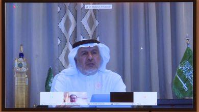 Photo of الدكتور #الربيعة يلتقي سفير جمهورية #سنغافورة لدى #المملكة