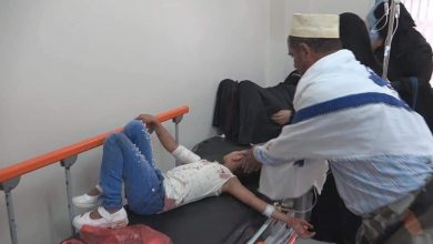 Photo of #مقتل امرأة وجرح 6 بينهم أطفال بقذيفة #حوثية استهدفت حي سكني وسط مدينة #تعز
