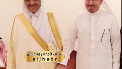 "Photo of ملتقى "" اصدقاء الشريف الراجحي "" يبارك عقد قران سعادة الشيخ ابودبيل ."