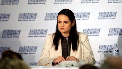 Photo of الاستخبارات الروسية تتهم زعيمة المعارضة في بيلاروسيا بالنشاط تحت رعاية أمريكية