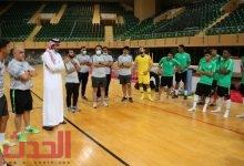 Photo of تدريبات متواصلة لأخضر الصالات في معسكر الدمام استعداداً لآسيوية الكويت.