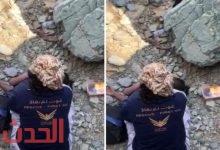 "Photo of بالفيديو .. العثور على مفقود ""وادي الفرع"" بالمدينة المنورة.."