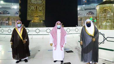 Photo of الرئيس العام يؤكد على دور الهيئة بالمسجد الحرام ويوصيهم بالجد والاجتهاد