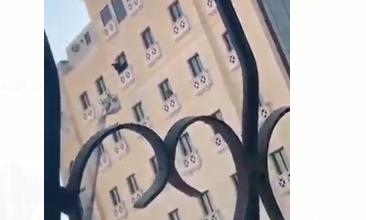 Photo of الجهات الأمنية تمنع فتاة من القفز من نافذة الدور السابع بأحد الفنادق في الدمام