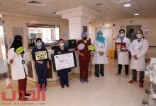 Photo of 35 مشارك في فعاليات التوعية بسلامة المرضى بتخصصي الدمام