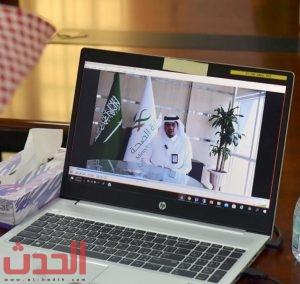 مدير صحة الرياض يلقي كلمته في المناسبة